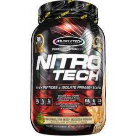 MuscleTech Nutrition Nitro-Tech Whey Protein Isolate & Lean Muscle Builder