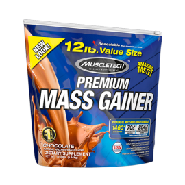 Mass Gainer - MuscleTech Nutrition 100% Premium / 12 Lbs