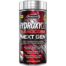 MuscleTech Nutrition Hydroxycut Hardcore Elite Next Generation