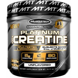 MuscleTech Nutrition Essential 100% UltraPure Micronized Creatine