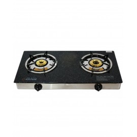 Electron Glass Top Gas Stove | Automatic 2 Burner