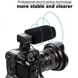 Stereo Recording MIC-03 Microphone for DSLR Camera