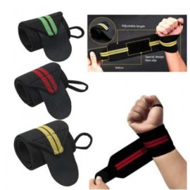 Weight Lifting Strap   Wrist Wrap Bandage For Fitness, Gym, Sport