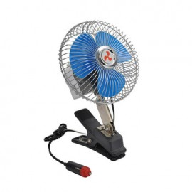 12V Dc Clamp/wall/stand oscillating Fan