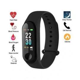 Third Gen M3 Smart Band Fitness Tracker with Blood Pressure Sensor   Smartwatch