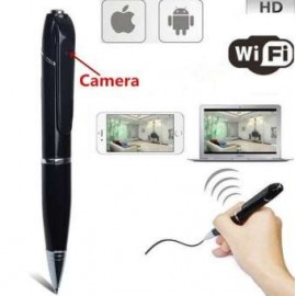 WI-FI Pen Camera DVR with Remote Live Videos and Photos