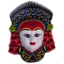 Handmade kumari mask