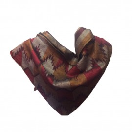 Custom Designed Handmade Dhaka Muffler -Dhaka Shwal/scarf made in Nepal