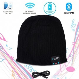 Bluetooth Cap Beanie Headset Earphone for Men and Women