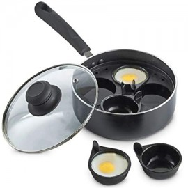 4 cup Non-stick Egg Poacher
