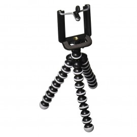 Flexible Mobile Tripod | Octopus Style Lightweight Mini Portable Adjustable Tripod
