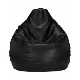 Nudge 3XL Black Bean Bag | A must have for your living / bed room