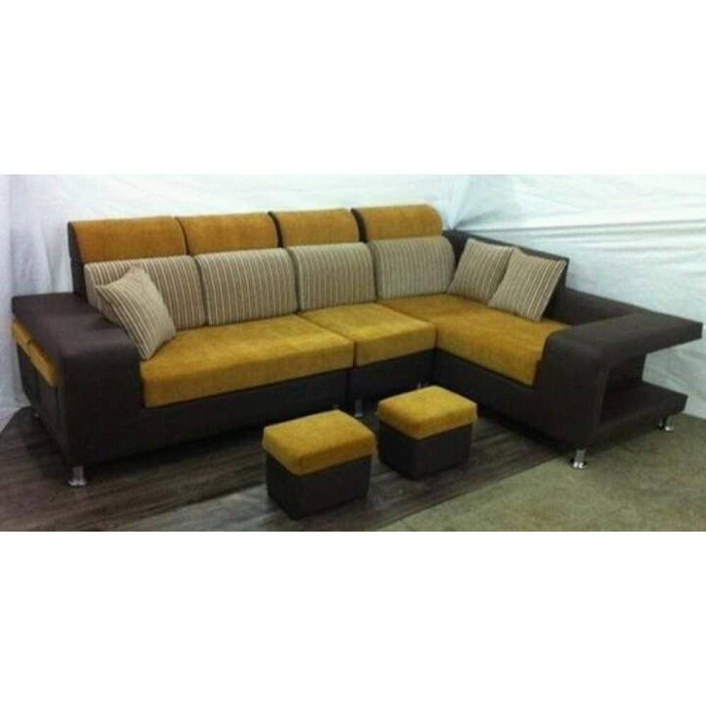 Fabric Soft Fluffy Living Room Furniture Office Room Sofa