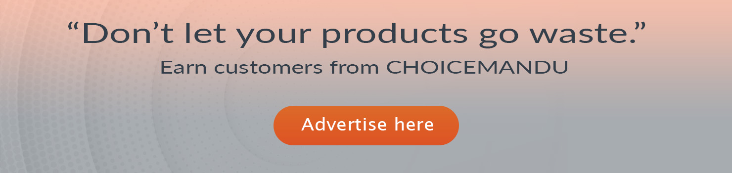Advertise your product on Choicemandu online shopping in Nepal