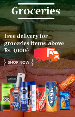 Buy groceries items above Rs.3000 for free delivery in Choicemandu online shopping