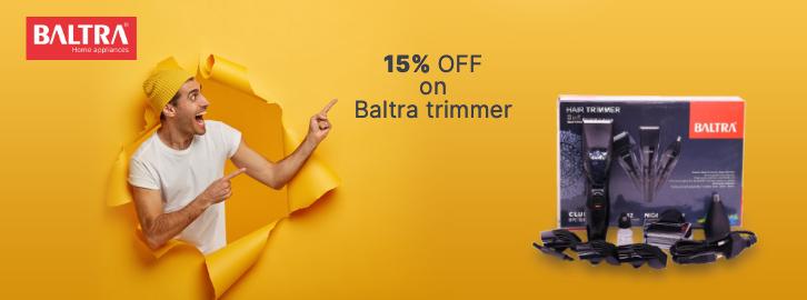 Get 15% off on Baltra trimmer in Choicemandu Online Shopping Site