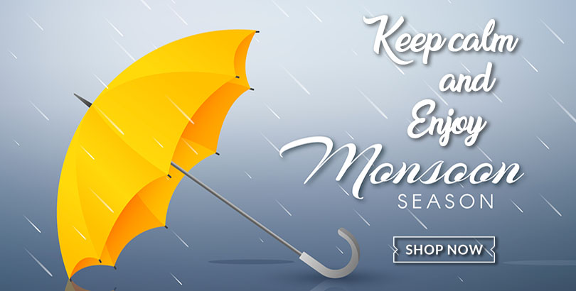 Get best quality umbrella, raincoats and other products for this monsoon in Choicemandu Online Shopping Site