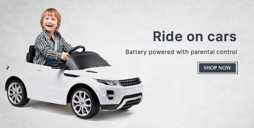 Get rideon bikes and cars for your kids in Choicemandu Online Shopping Site