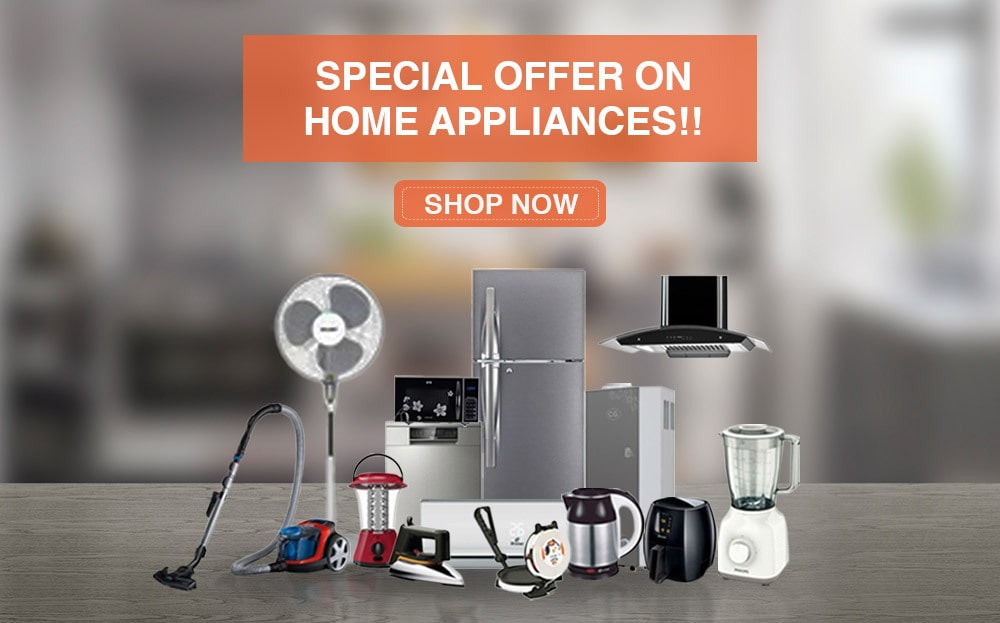 Special discounts for home appliances in Choicemandu online shopping
