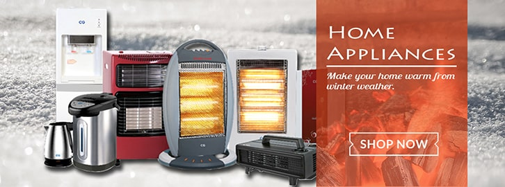 Get necessary home appliances for this winter in Choicemandu Online Shopping Site
