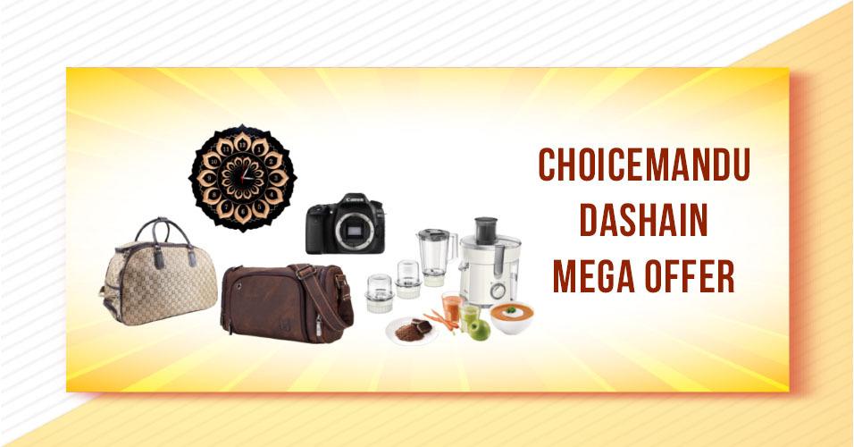 Choicemandu Mega Dashain Sale